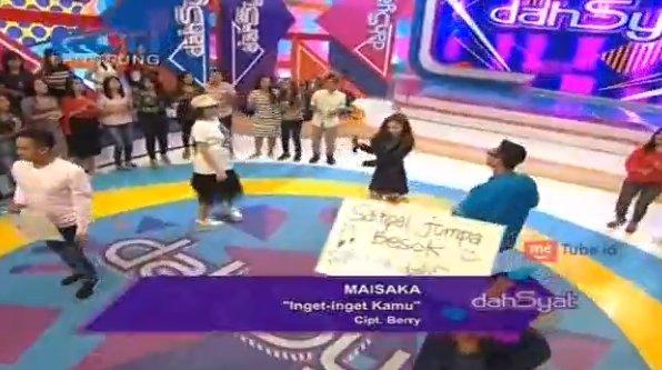 Penyanyi Lagu Ingat-ingat Kamu di Dahsyat RCTI Maret 2017