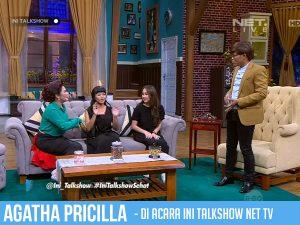 Agatha Pricilla Bintang Tamu di Acara Ini Talkshow 25 April 2017