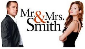 mr & mrs smith cover poster