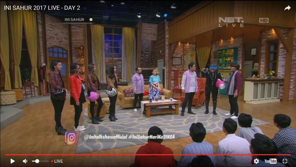 Ini Sahur Net Tv bintang Tamu Winda - Net TV
