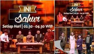 Ini Sahur Net Tv - Net TV