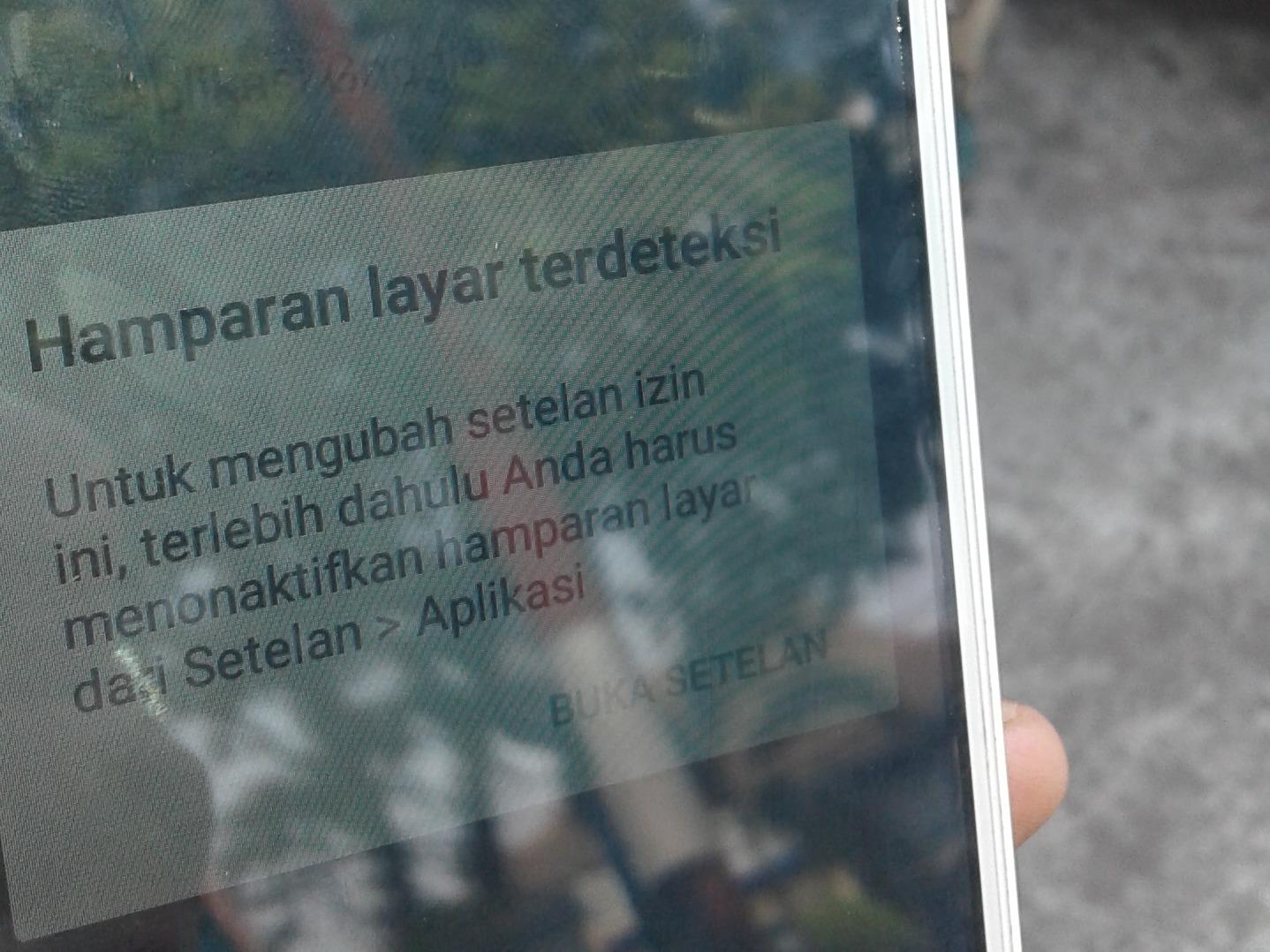 Solusi Mengatasi Hamparan Layar Terdeteksi pada Android