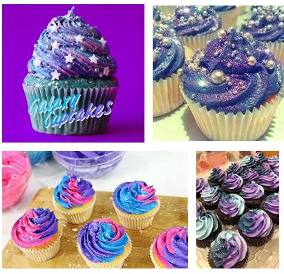 cupcake galaxi - google image
