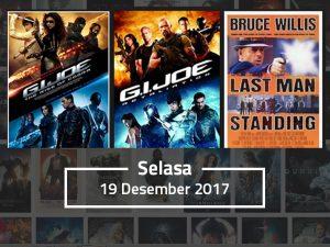 Jadwal Acara TV Hari Ini, Selasa 19 Desember 2017